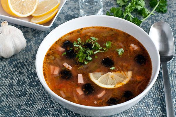 Суп-солянка рецепт